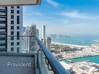 5 Bedroom Apartment for Rent in Dubai Marina, Dubai - Full Sea and Dubai Eye View | Private Jacuzzi