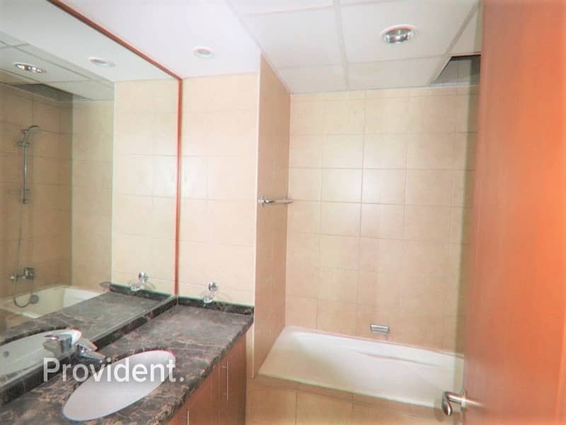 10 Stunning 2 beds with Maid's room   Low floor