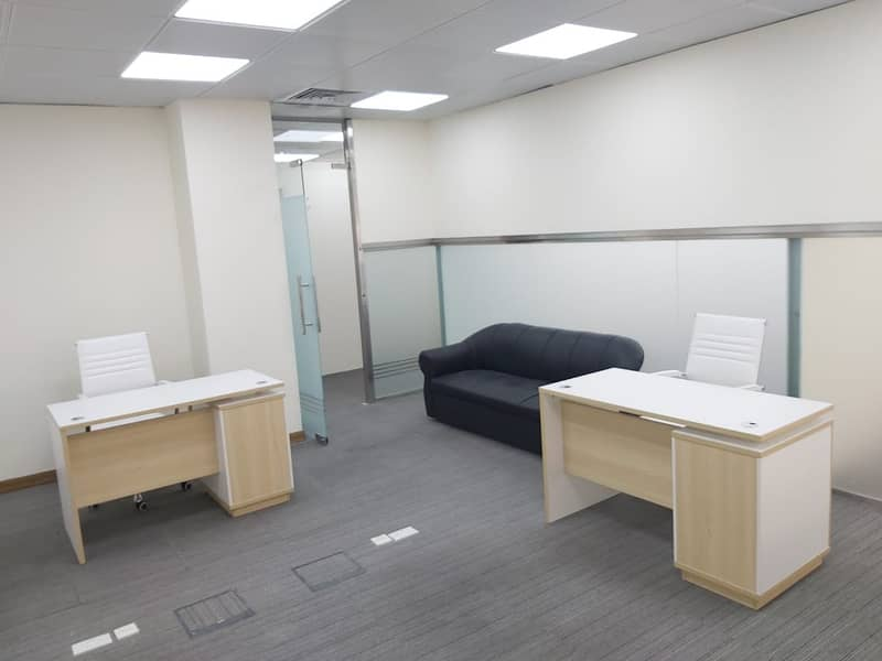 BRAND NEW LUXURY OFFICE SPACE IS NOW AVAILABLE! FREE UTILITIES
