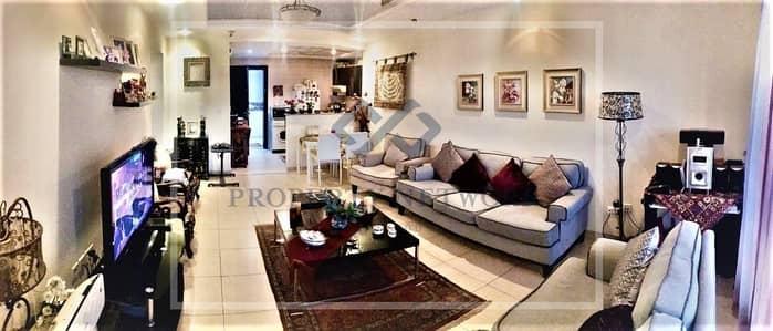 شقة 1 غرفة نوم للبيع في أبراج بحيرات الجميرا، دبي - Spacious Exclusive 1BR JLT  Investors' Deal