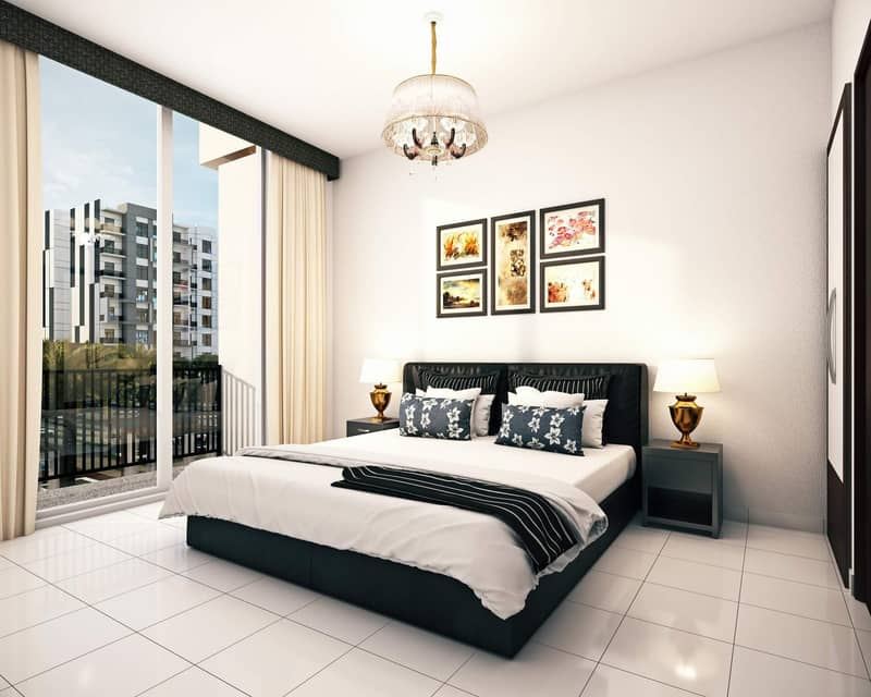 1- Bedroom Apartment in International City with 4- years Post Completion Payment plan