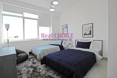3 Bedroom Flat for Rent in Business Bay, Dubai - Exclusive 3BR Maid l laundry l curtains l Equipped kitchen
