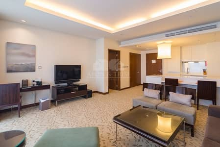 1 Bedroom Apartment for Sale in Downtown Dubai, Dubai - Fully furnished | Serviced apartment | High floor