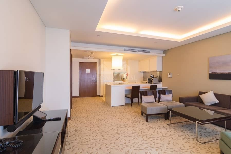 2 Fully furnished | Serviced apartment | High floor