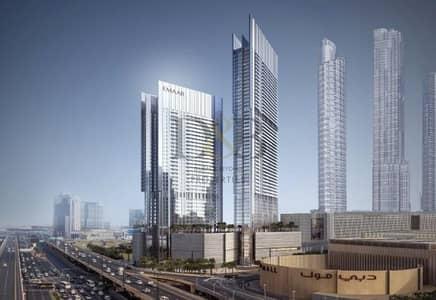 2 Bedroom Flat for Sale in Downtown Dubai, Dubai - Front Facing | 2 BR+Study | Full Burj Khalifa View