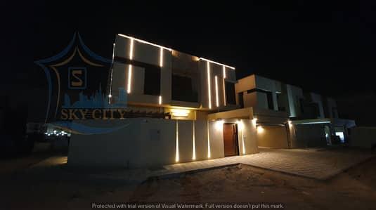 5 Bedroom Villa for Sale in Al Mowaihat, Ajman - Villa personal finishing corner two streets ready of all things personal villa