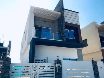 4 Bedroom Villa for Sale in Al Helio, Ajman - Brand New Villa Two Floors nearby main road With Good Finish And Design in al helio
