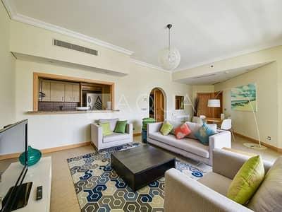 شقة 3 غرف نوم للايجار في نخلة جميرا، دبي - 3 Beds C Type | Fully Furnished | 4 Cheques