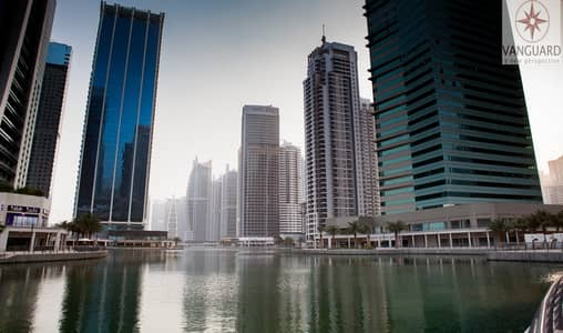 2 Bedroom Apartment for Sale in Jumeirah Lake Towers (JLT), Dubai - Best Deal! Vacant 2 Bedroom with Lake View  in JLT