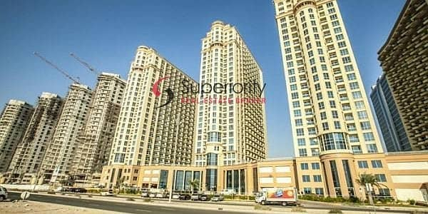استوديو  للايجار في مدينة دبي للإنتاج، دبي - Open View | Studio For Rent | Crescent Tower