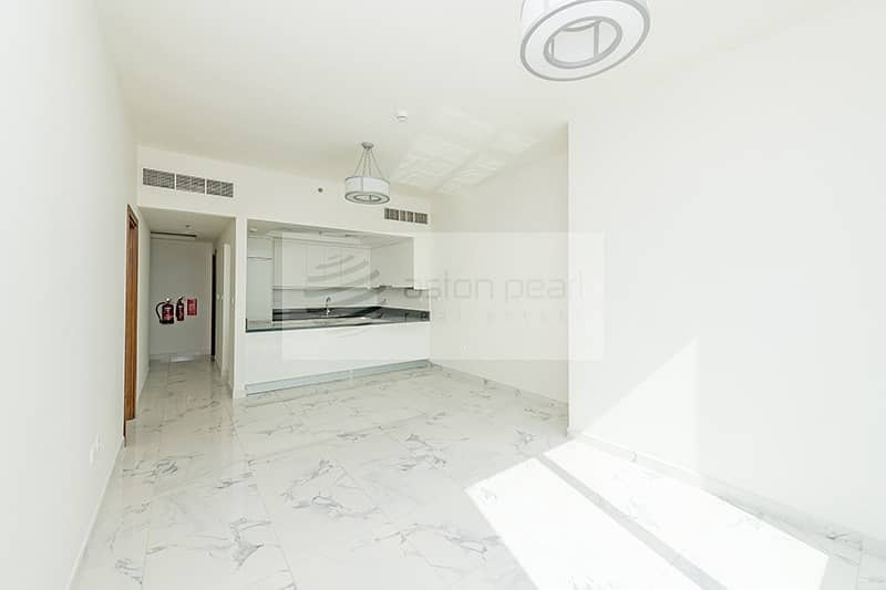 Wooden flooring | 1 Bed with Balcony | Noura Tower