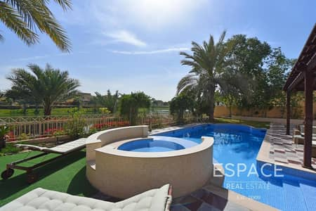 5 Bedroom Villa for Sale in The Meadows, Dubai - Lake View   Extended and Upgraded   Private Pool