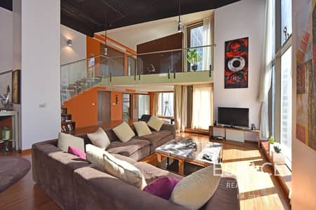 2 Bedroom Flat for Sale in Jumeirah Beach Residence (JBR), Dubai - Upgraded 2 Bed Duplex Loft | 3M Wide Windows