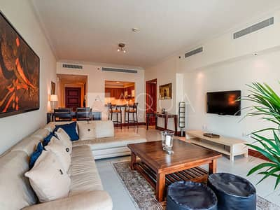 فلیٹ 1 غرفة نوم للايجار في نخلة جميرا، دبي - Fully Furnished   Luxurious Unit   Sea Views