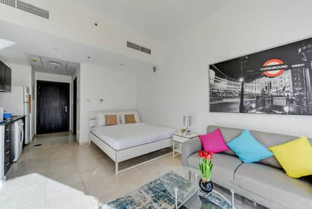 Studio for Rent in Jumeirah Village Circle (JVC), Dubai - Exclusive Deal!! Charming Fully Furnished Studio in JVC with Huge Balcony