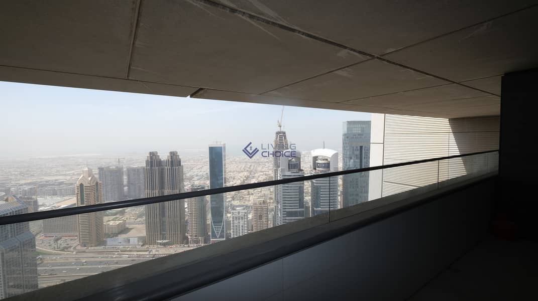 18 Unfurnished 2BR | Burj Khalifa View | 2 Balconies