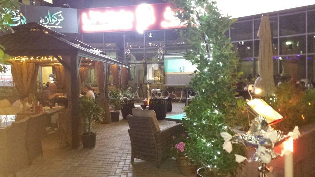15 Running Restaurant with Shisha Direct marina Walk