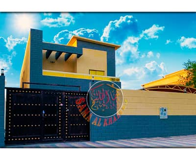 5 Bedroom Villa for Sale in Al Rawda, Ajman - Distinctive modern design villa - 5 master bedrooms - freehold