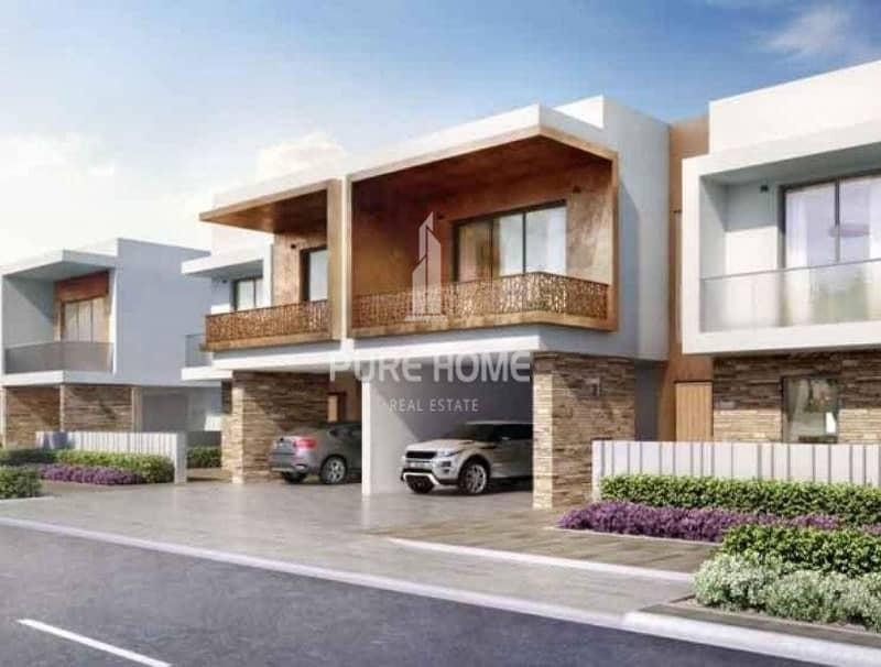 2 Zero Regitration Fees Stunning Villa with 3Bedroom For SALE