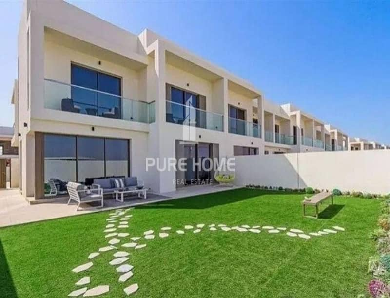 Extraordinary Development in Yas Island Own Now This 3 Bedrooms VILLA  For All Nationalities