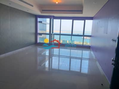 فلیٹ 2 غرفة نوم للايجار في المیناء، أبوظبي - No Commission ! Sea View 2 BHK with maids room and all facilities