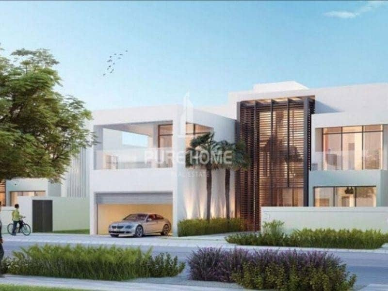 2 Free ADM Fees Zero Registration Fees 4 BR Villa in the Most Prestigious Location in Abu Dhabi