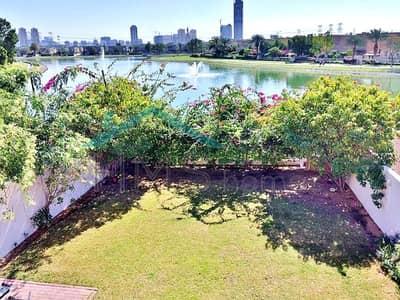 فیلا 3 غرف نوم للايجار في الينابيع، دبي - Stunning Lake View 3-Bed 3E Villa in Springs 14