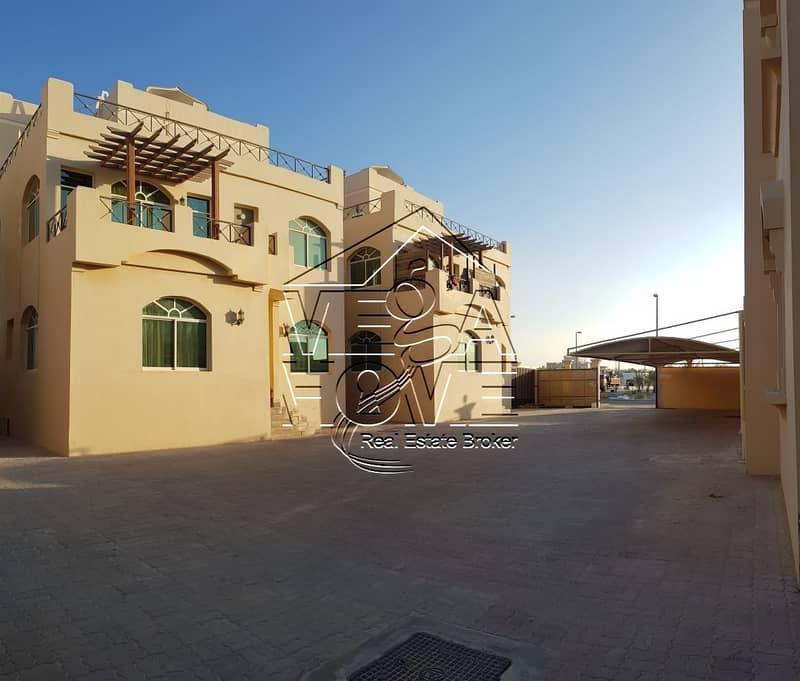 فیلا في مدينة شخبوط (مدينة خليفة ب) 5 غرف 110000 درهم - 4514310