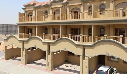 4 Bedroom Villa for Rent in Ajman Uptown, Ajman - Big Size 4 Bedroom villa with separate hall available for rent in ajman uptown