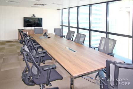 Office for Rent in Jumeirah Lake Towers (JLT), Dubai - Partitioned | Full Furnished | High Floor