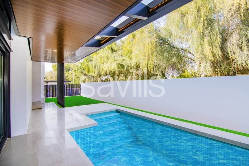 Brand New Contemporary Villa with Pool and Garden