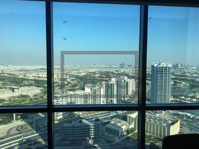Fully Furnished Office |  X2 Tower | Amazing View
