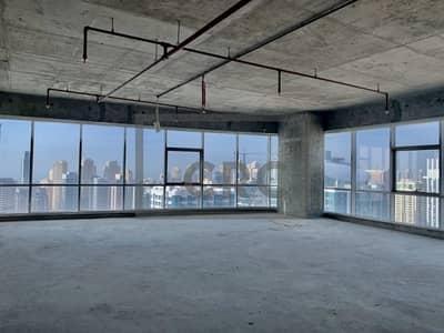 Office for Sale in Jumeirah Lake Towers (JLT), Dubai - High Floor | Shell & Core |Full JLT view