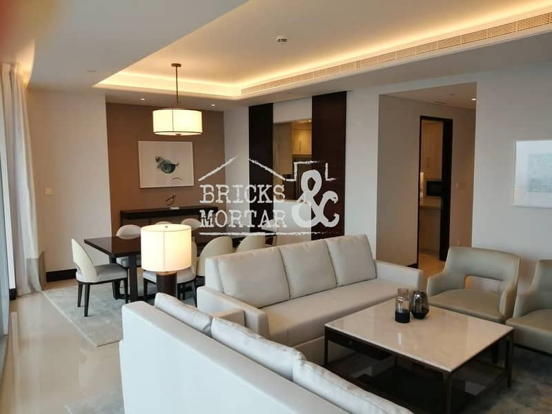 A/C Free | Fully Furnished | Stunning Burj View