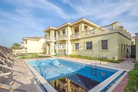 5 Bedroom Villa for Sale in Palm Jumeirah, Dubai - High Number | Extended Plot | Project