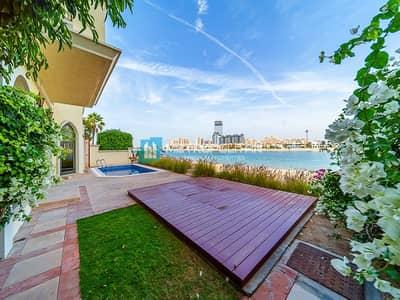 5 Bedroom Villa for Rent in Palm Jumeirah, Dubai - Marina Skyline View. High number