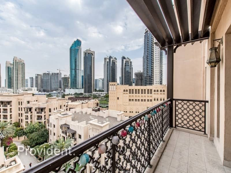 2 Large and Spacious 1BR with Burj Khalifa View