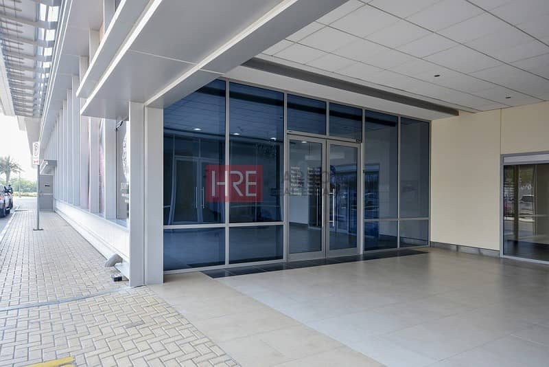 2 Spacious Fully Fitted Shop|Only AED 140/- sqft