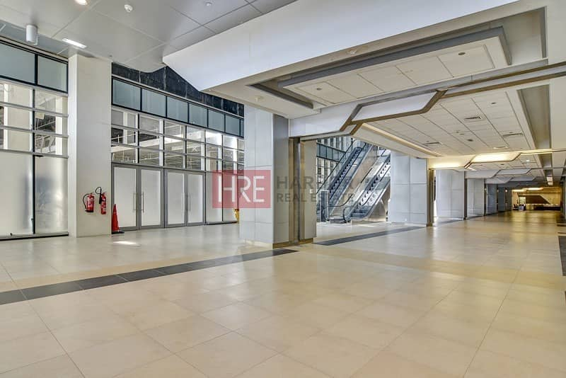 15 Spacious Fully Fitted Shop|Only AED 140/- sqft