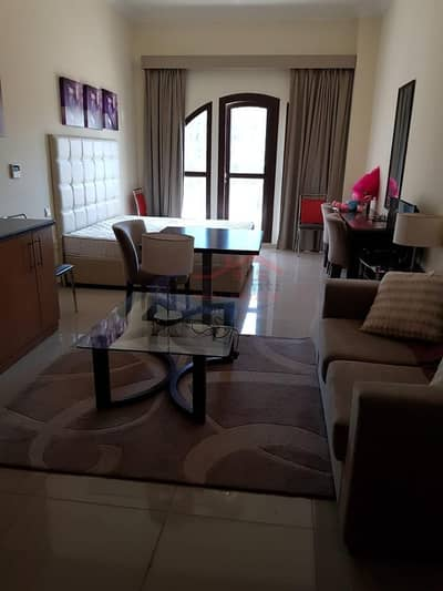 Studio for Rent in Arjan, Dubai - FURNISHED STUDIO FOR RENT IN LINCOLN PARK ARJAN