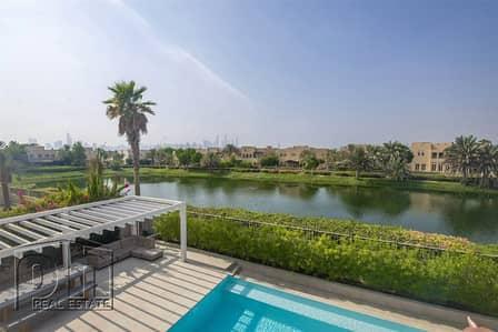 فیلا 5 غرف نوم للبيع في السهول، دبي - Stunning Upgraded Lake View 5 bed
