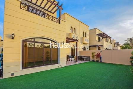 فیلا 4 غرف نوم للايجار في مدن، دبي - Corner | Single Row | Facing Park | Landscaped