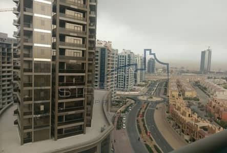 2 Bedroom Apartment for Rent in Dubai Sports City, Dubai - Fully furnished 2 B/R - Partial Golf view