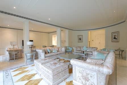 شقة 3 غرف نوم للايجار في قرية التراث، دبي - Sea View | Furnished | Luxury 3BR Duplex