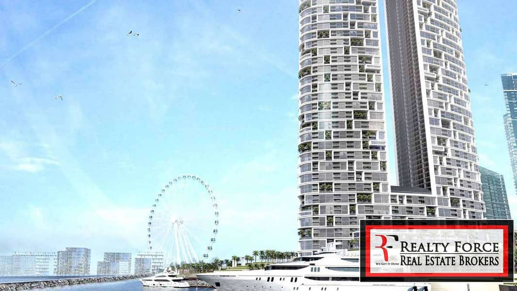 PALM & MARINA VIEW   90% PAYMENT ON HANDOVER