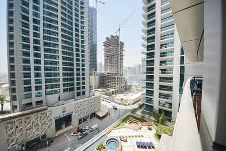 فلیٹ 1 غرفة نوم للايجار في دبي مارينا، دبي - View