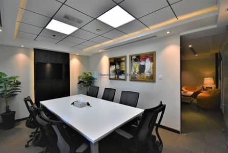 مکتب  للايجار في أبراج بحيرات الجميرا، دبي - Furnished & Fitted Office Space in One Lake Plaza