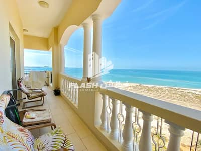 2 Bedroom Apartment for Rent in Al Hamra Village, Ras Al Khaimah - CHARMINGLY FURNISHED 2BR I FULL SEA VIEW I BRAND NEW