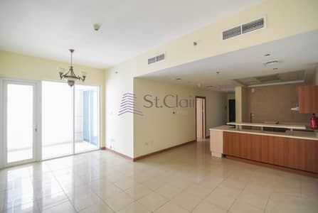 1 Bedroom Flat for Sale in Dubai Marina, Dubai - Rented Big Size 1BR Middle Floor / Balcony