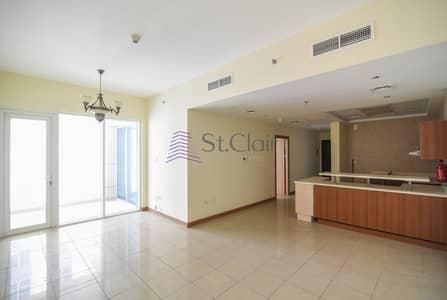 فلیٹ 1 غرفة نوم للبيع في دبي مارينا، دبي - Rented Big Size 1BR Middle Floor / Balcony